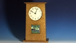 A Mission Mantel Clock