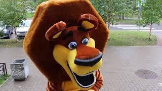 Lion mascot costume for kids show and events