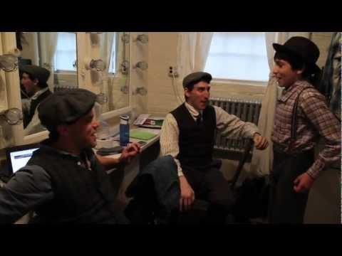 NEWSIES Behind-the-Scenes with Crutchie: Backstage