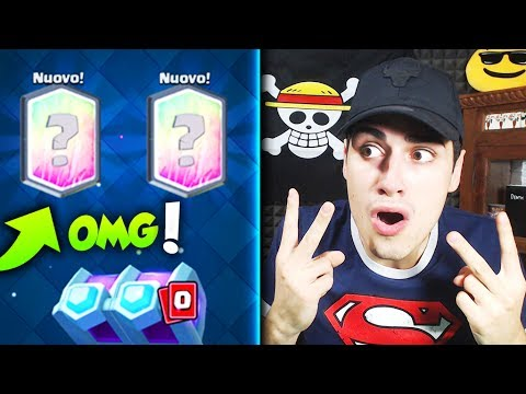 Thumbnail: 2 Nuove LEGGENDARIE in un SOLO COSTRUIBILE! Opening Chest Clash Royale