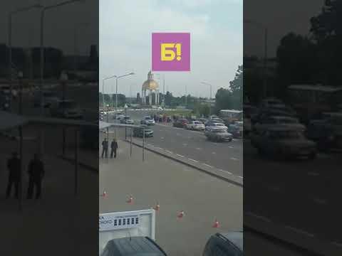 Пассажиры автобуса перекрыли Богданку в Белгороде