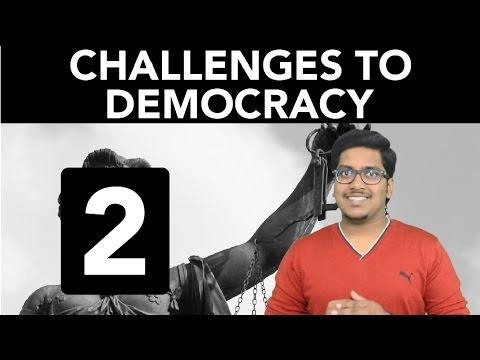 Civics: Challenges to Democracy (Part 2)