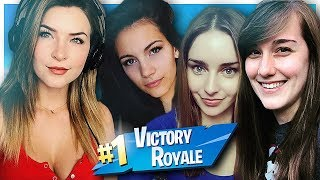 GIRL SQUADS WIN! w/ Loserfruit, Alexiaraye, ONE_shot_GURL (Fortnite: Battle Royale) | KittyPlays