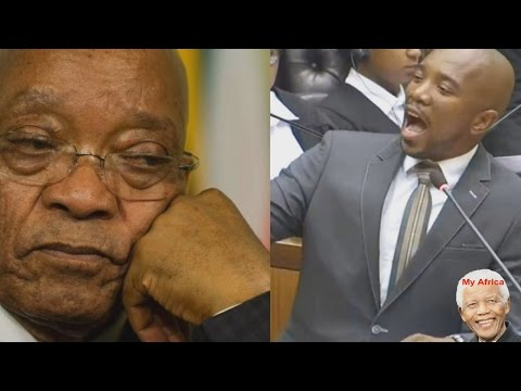 Why Jacob Zuma Must Go. DA leader Mmusi Maimane