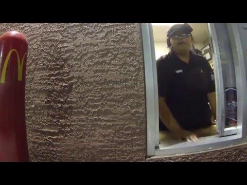 McDonald's Drive-Thru Small Fry Standoff - The Finally, 14 May 2016, Gila Bend, AZ,   GP020123