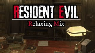 Ambient & Relaxing Resident Evil Music (w/ Rain & Storm Ambience)