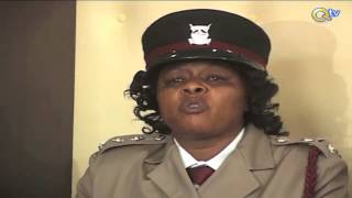 NAKURU: Inspekta mwanamke atuzwa kwa kumpokonya polisi mlevi bunduki