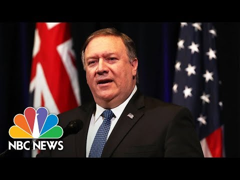 Secretary of State Mike Pompeo Testifies On North Korea, Russia | NBC News