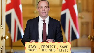Live: Dominic Raab gives UK government's daily coronavirus briefing - 5 May   ITV News