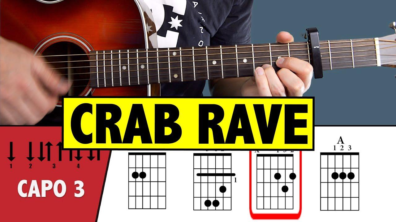 Crab Rave Meme - Noisestorm // Guitar Tutorial & Cover ...
