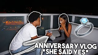 ANNIVERSARY VLOG SHE SAID YES ! A NEW CHAPTER NEW BEGINNINGS