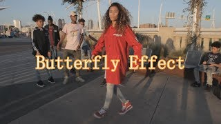 Travis Scott Butterfly Effect Dance Audio Shot By Ajmoney1041