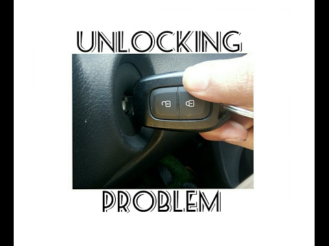 Renault Kwid Key Unlock Solution In Realty There Is Not Any Problem