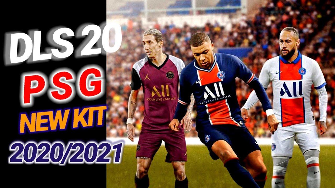 DLS 20 PSG NEW KIT 2020/2021 - YouTube