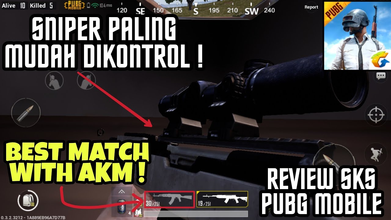 Review Senjata Sniper Sks Di Pubg Mobile Bisa Banyak Kill