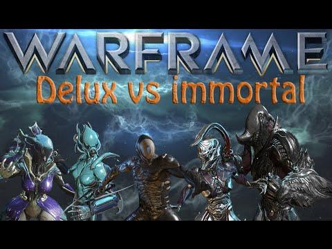 Warframe - Deluxe Skin or Immortal Skin? (Worth it?)