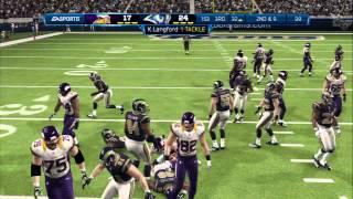 Madden'13 H2H Minnesota Vikings vs St Louis Rams