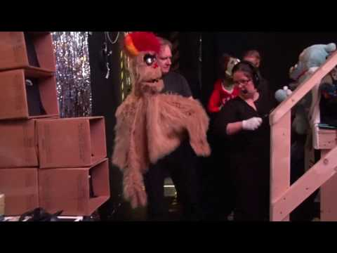 AVENUE Q - Backstage at the Arts Club's Granville Island Stage