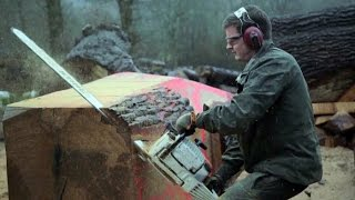 Chainsaw Carving With Wood Sculptor Dave Lucas