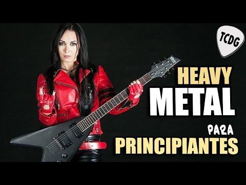 Aprende Como Tocar HEAVY METAL en Guitarra Para Principiantes TG