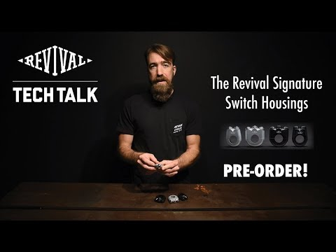 Revival Cycles Tech Talk - The Revival Signature Type 1 Push Button Switch Housing