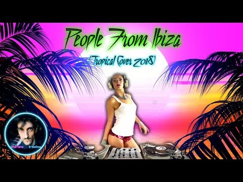 STEFANO ERCOLINO - PEOPLE FROM IBIZA (2018) Official Music Video [Cover Sandy Marton]