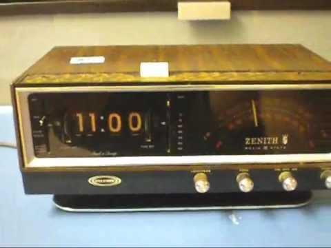 Amazon.com: Zenith Z166S Clock Radio with Sound Therapy ... |Zenith Clock Radio