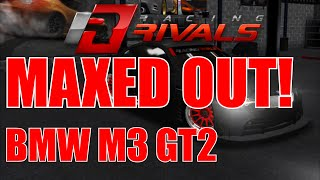 rr maxed out matte black bmw m3 gt2