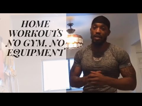 HOME WORKOUT NO GYM, NO WEIGHTS, NO EXCUSES! #fitnessgeneraljrv #homeworkouts #totalbodyworkouts