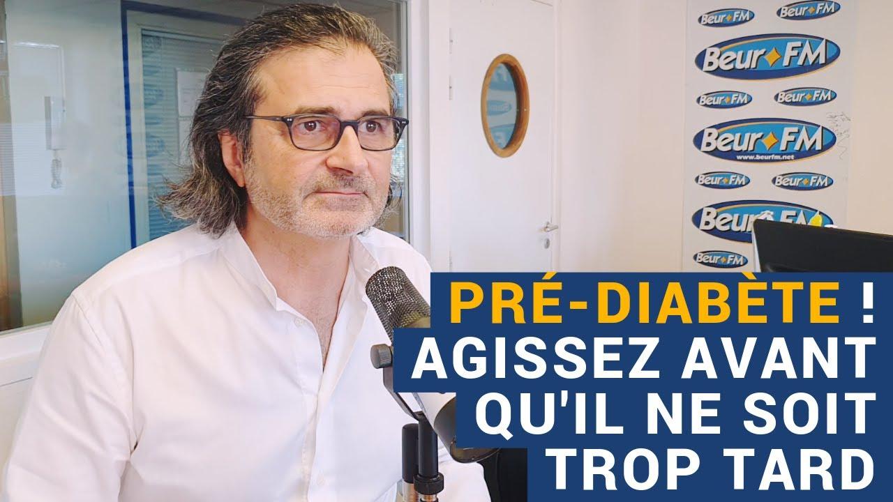 """[AVS] """"Pré-diabète ! Agissez avant qu'il ne soit trop tard"""" - Dr Réginald Allouche"""