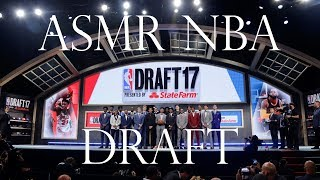 ASMR Sports: 2017 NBA Draft Results -  (Whispered Basketball ASMR for Relaxation)