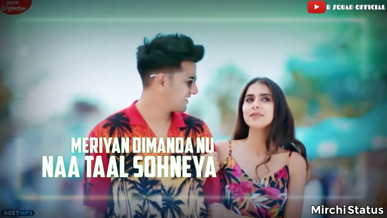 Sun Le Ek Gal Sohneya Love Whatsapp Status Video ...