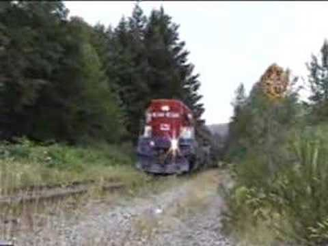 Pacific Wilderness Tourist Train - Final Season