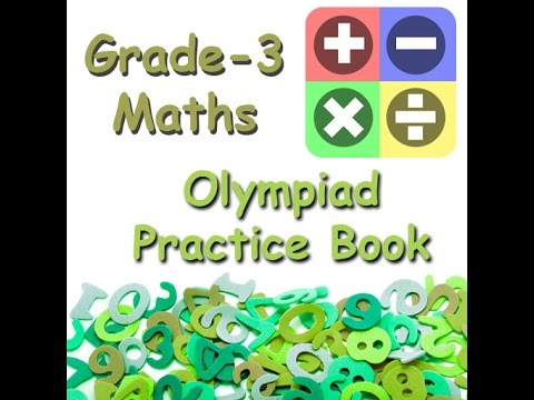 Math Olympiad Practice book for class III
