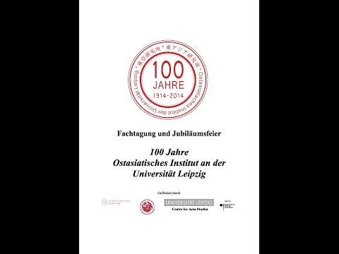 100 Jahre Ostasiatisches Institut an der Universität Leipzig: Ein Dialog