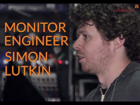 Monitor Engineer: Interview with Simon Lutkin, monitor engineer, in O2 Brixton Academy