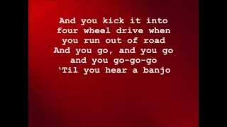 Rascal Flatts; Banjo [ON-SCREEN LYRICS]