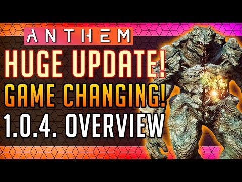 Anthem | GAME CHANGING UPDATE! 1.0.4. Full Overview! #Anthem