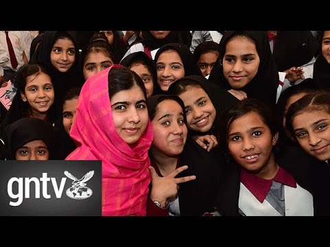 Malala: I want to be Prime Minister of Pakistan