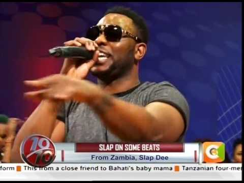 Zambia's Slap Dee performing on the ten #10Over10