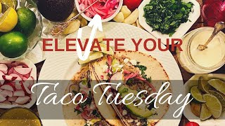 Taco Tuesday Upgrade! Learn how to make Homemade Mexican Crema & Pickled Onions! Keto friendly