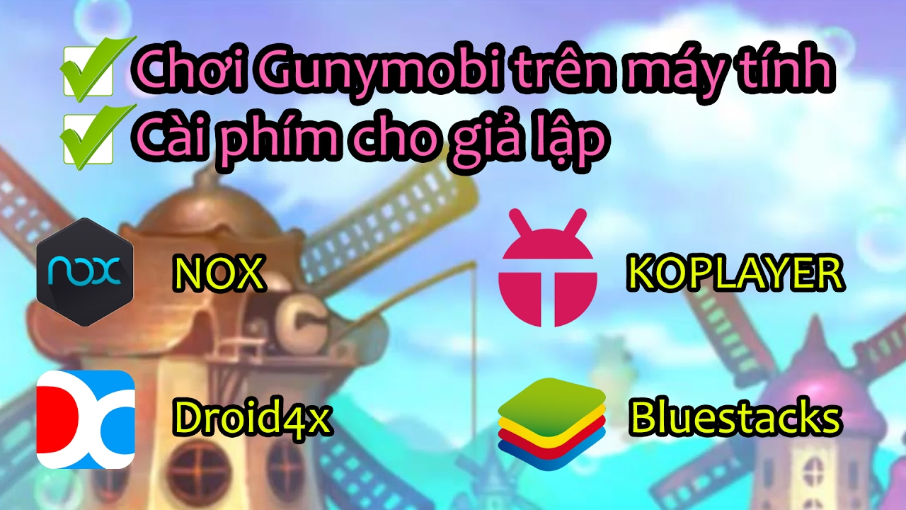 [Gunny mobi] – Chơi Gunnymobi trên máy tính như Gunny Zing – Cách cài phím cho game