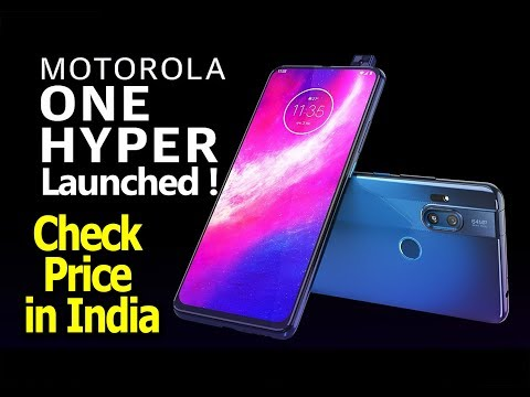 Motorola One Hyper Lauched | Price & Specifications | Features | Review | Full Details !