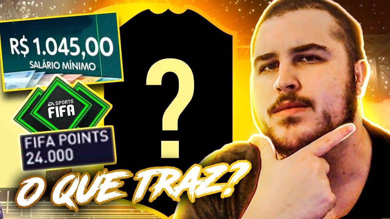 O QUE UM SALÁRIO MÍNIMO TE TRAZ NO FIFA 21? PACK OPENING