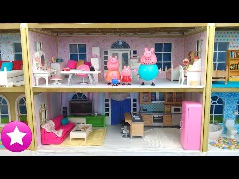 Peppa Pig 60# Vive en una NUEVA CASA MUY GRANDE Vídeos Peppa Pig