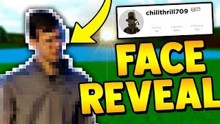ChillThrill709 FACE REVEAL!! (Owner of Build a boat for Treasure) ROBLOX