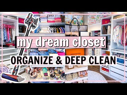 CLOSET ORGANIZATION IDEAS & EXTREME CLEAN WITH ME! | Alexandra Beuter