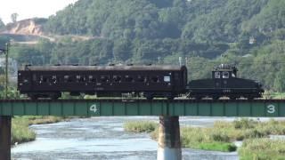 上信電鉄デキ3 旧型客車スハフ42牽引 【Joshin Electric Railway】