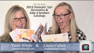 Mega Sneak Peeks from the 2019 Stampin Up Occasions & SAB Catalogs & OnStage Recap - Epi 68