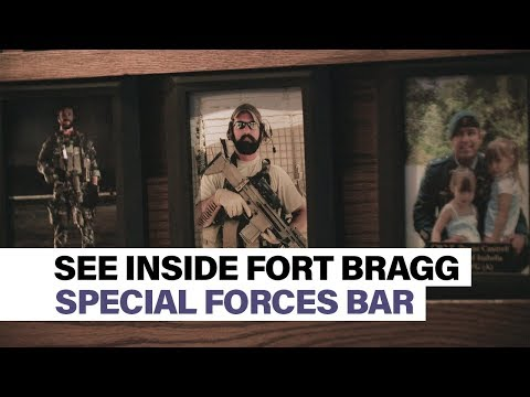 See Inside Fort Bragg's Special Forces Bar: Charlie Mike's